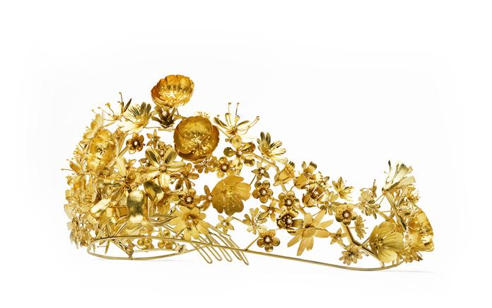 manchetknap i guld